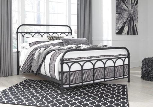 McAllen Furniture - queen metal bed frame,metal bed,ashley metal bed
